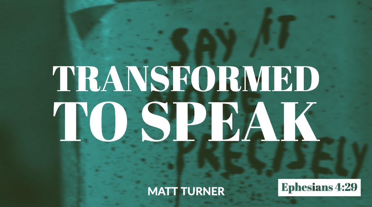 Transformed to Speak