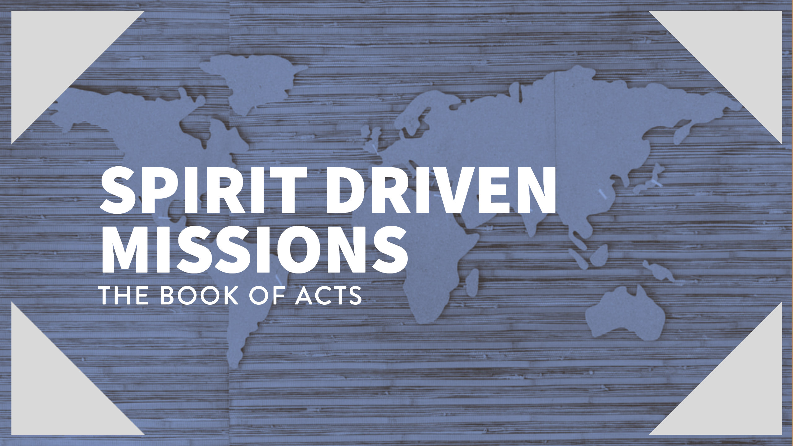 Spirit Driven Missions