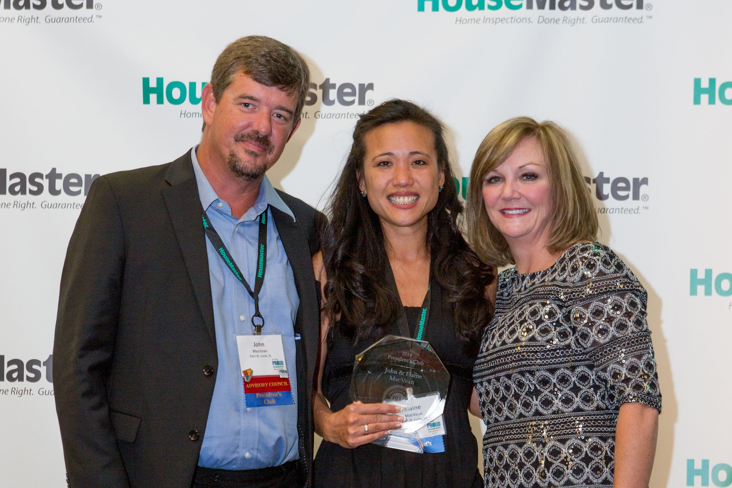 HouseMaster's Owner, John MacVean Awarded Affiliate of the Year by Palm Beach Gardens, Florida for 2015