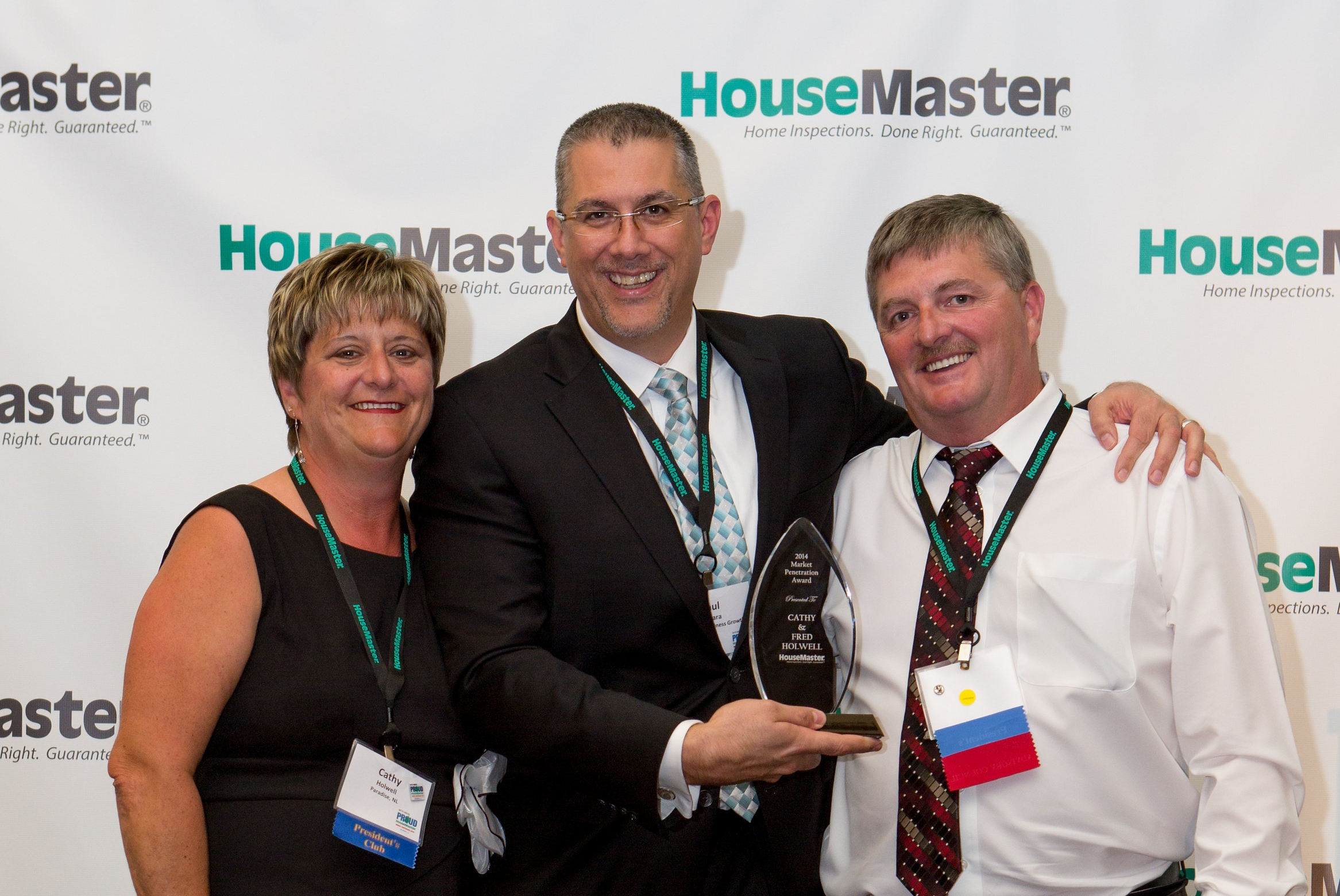 HouseMaster's Fred and Kathy Holwell Honored with Market Award