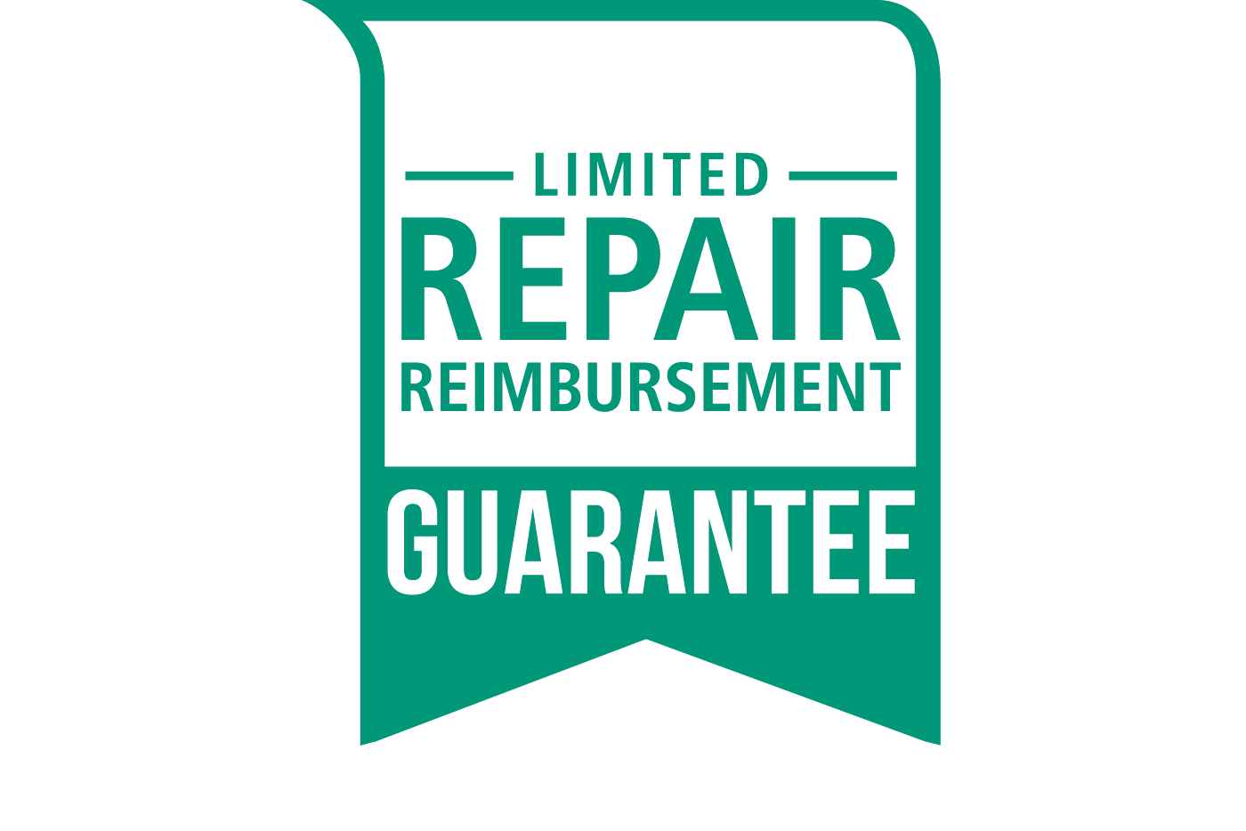Exclusive Written Limited Repair Reimbursement Guarantee