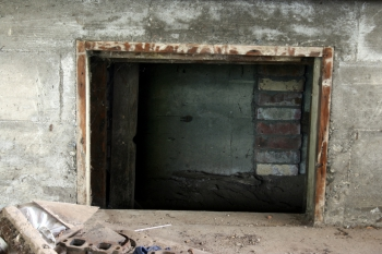 crawl space for home inspection
