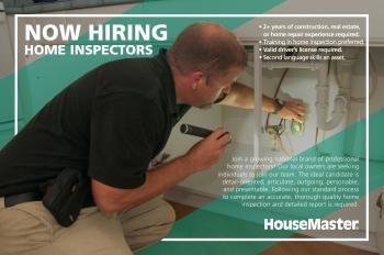 Now Hiring Home Inspectors
