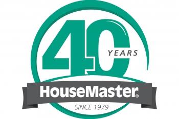 HouseMaster 40 year anniversary logo
