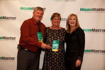 Holwells Honored with Prestigious Award at HouseMaster Annual Conference