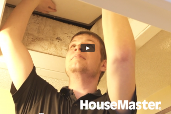 HouseMaster Demonstrates the Inspection of an Attic