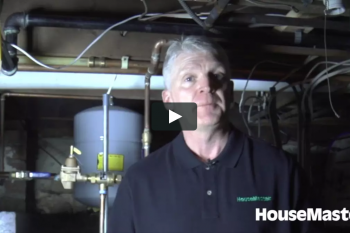 HouseMaster Demonstrates the Inspection of a Boiler