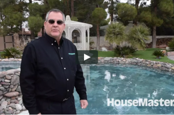 HouseMaster Demonstrates the Inspection of a Pool
