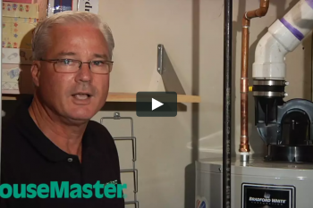 HouseMaster Demonstrates the Inspection of a Water Heater
