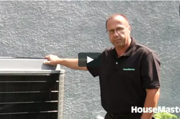 HouseMaster Demonstrates the Inspection of an Air Conditioner