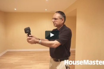 HouseMaster Demonstrates the use of an Infrared Scanner as part of a Home Inspection