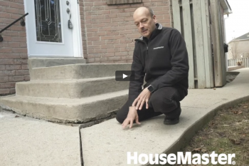 HouseMaster Demonstrates the Inspection of the Exterior of a home