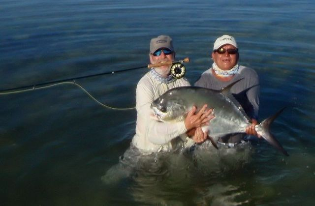 Otto and Alberto with a nice Permit