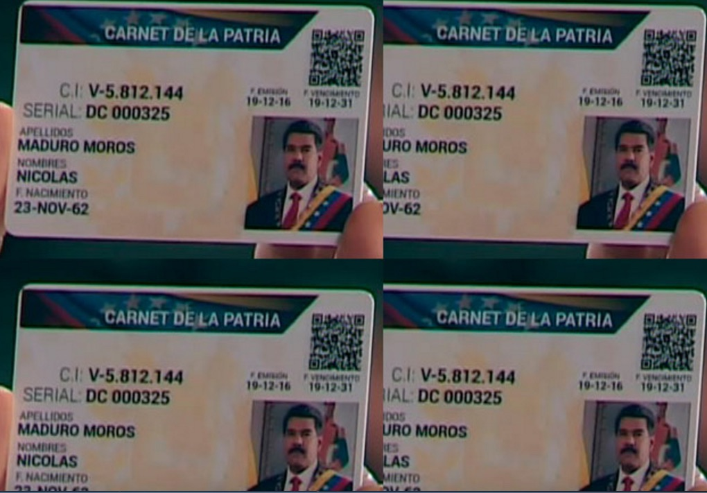 carnet de la patria registro inscripcion enero 2017