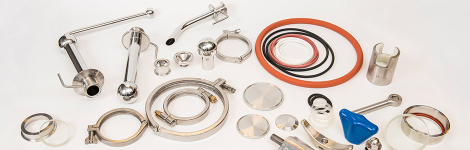 We carry Precision Stainless Inc parts and precision tank and equipment components.
