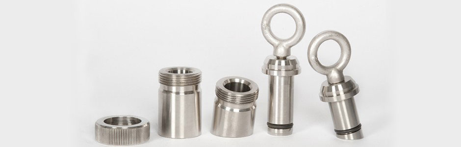 Stainless steel plugs cnc machine parts holloway
