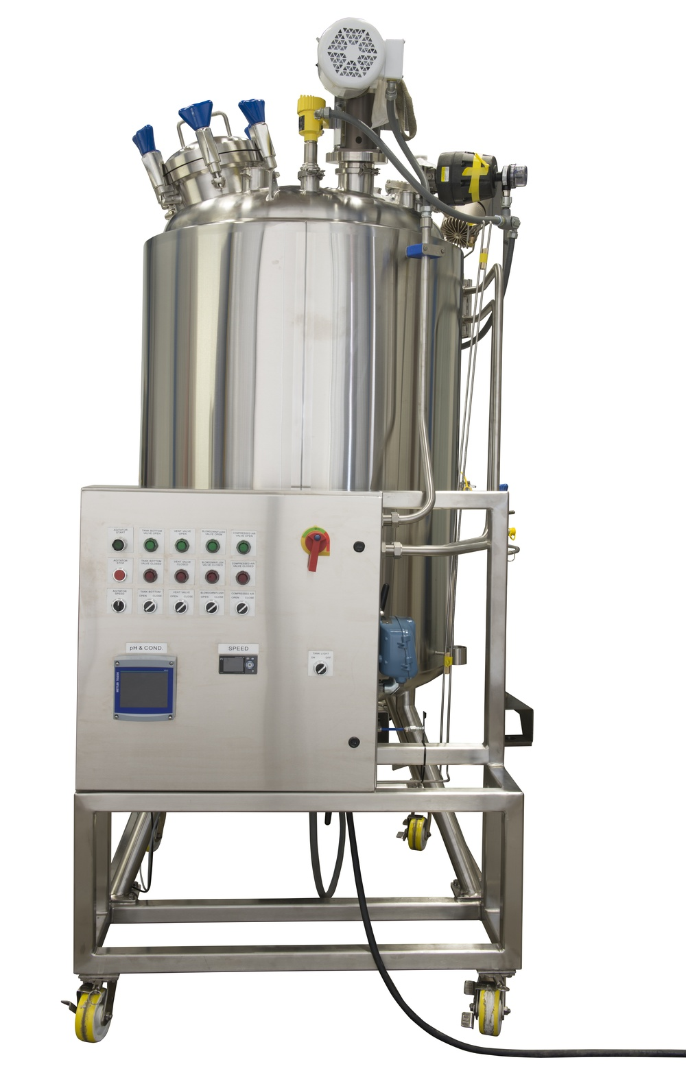 HOLLOWAY proudly produces pharmaceutical stainless steel solutions like this smart tank.