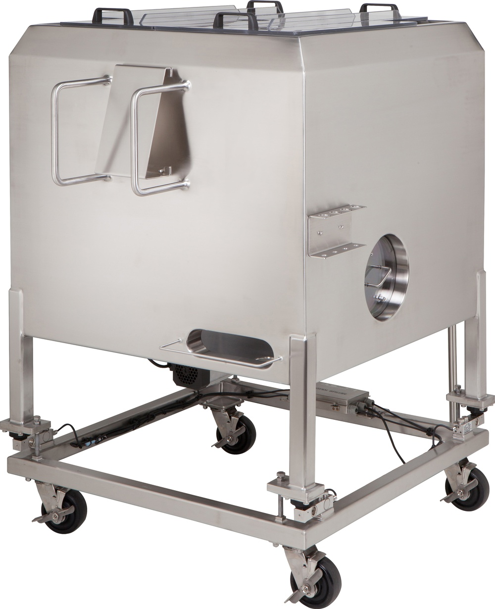 HOLLOWAY proudly produces pharmaceutical stainless steel solutions like this single use mixer.