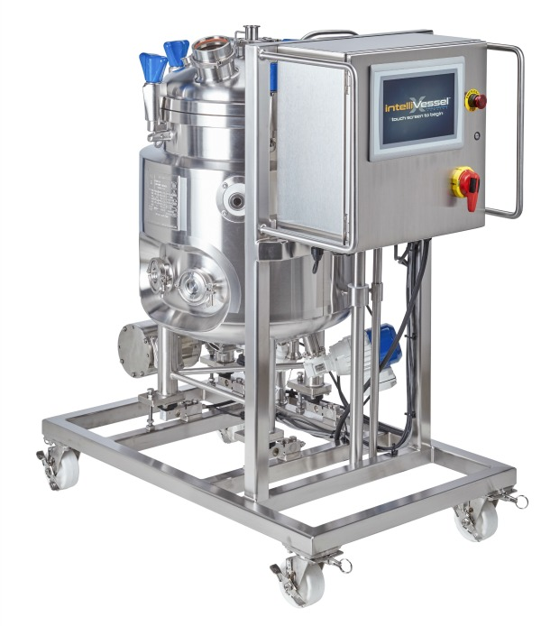 HOLLOWAY proudly produces pharmaceutical stainless steel smart tank solutions like The intelliVessel™.