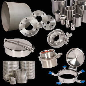 Custom stainless steel fabrication of pressure vessel components makes HOLLOWAY components last.