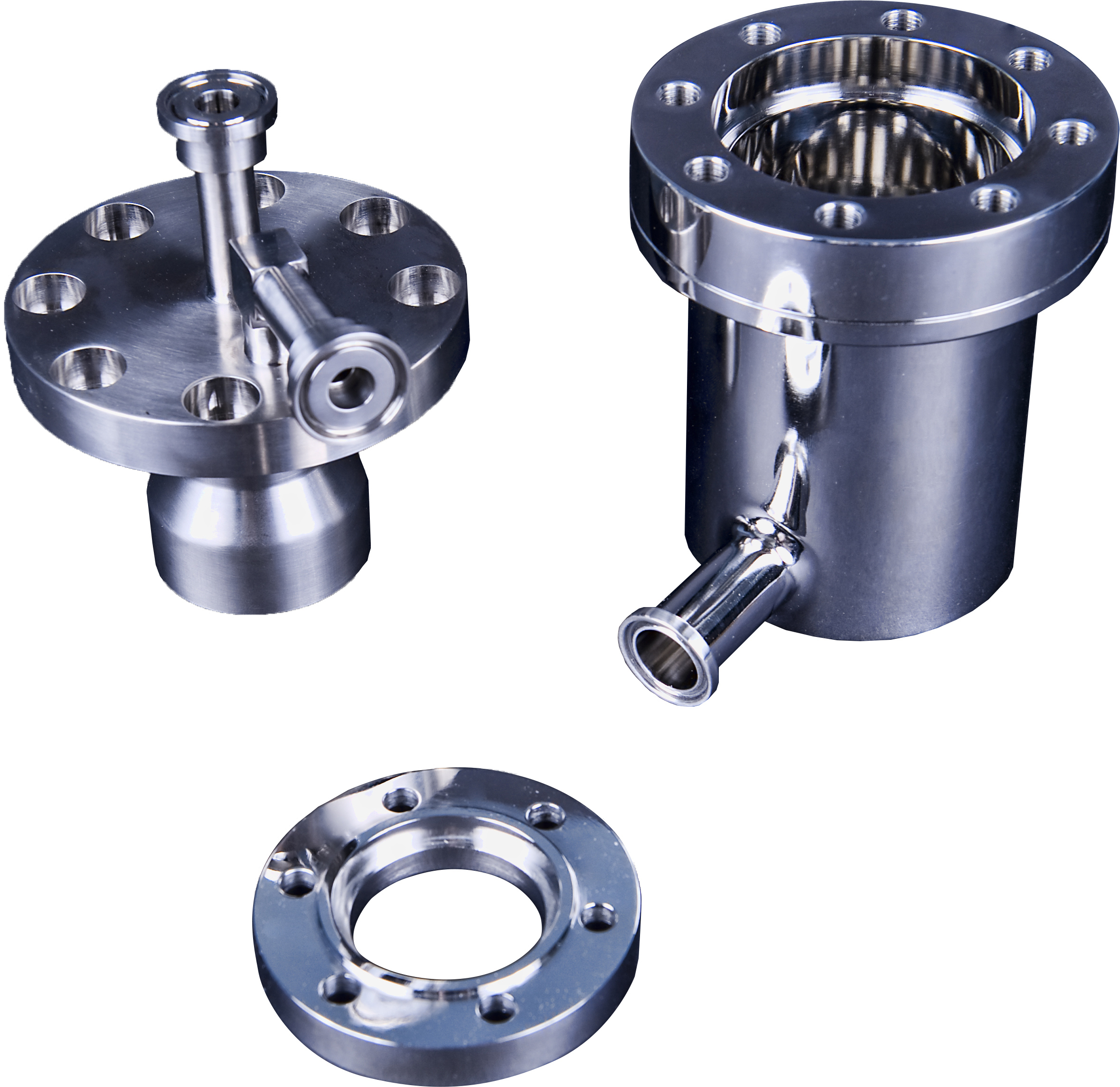 Our components for ASME pressure vessels are made to stainless steel ASME code requirements.