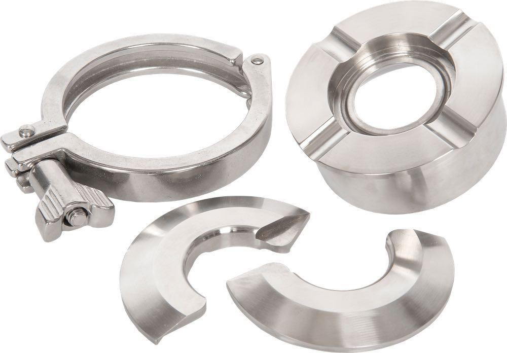 Fastmount™ split ring flange tri clamp fittings holloway