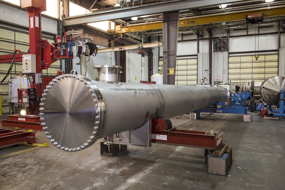 These piping spools show off Holloway's pressure vessel engineering and custom equipment capabilities.