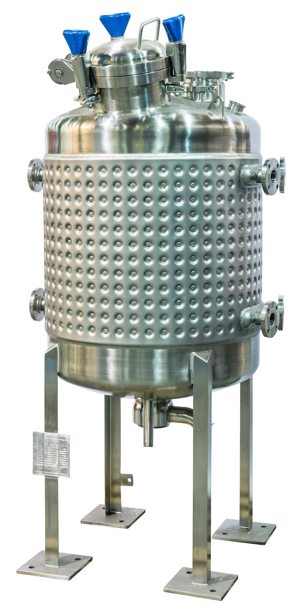 Heating and cooling vessels from HOLLOWAY provide a true heat transfer.