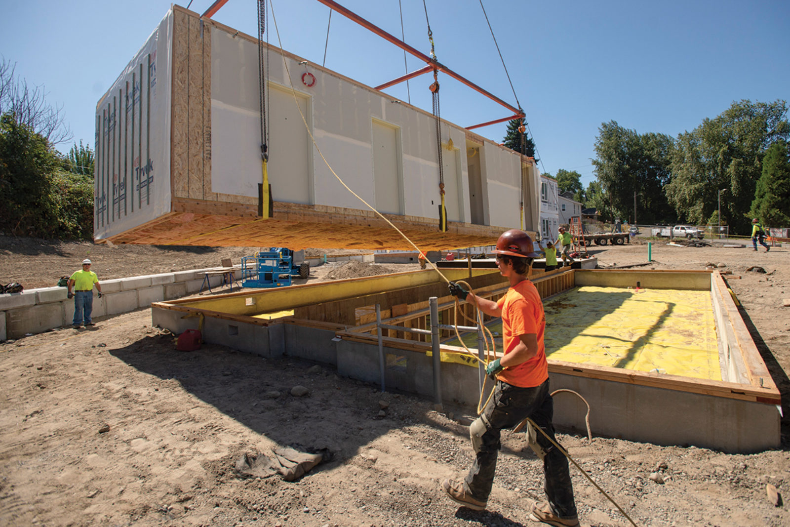 Modular Construction in Affordable Housing