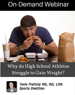 Why do High School Athletes Struggle to Gain Weight?