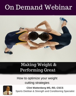 Making Weight & Performing Great