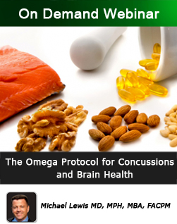 The Omega Protocol for Concussions and Brain Health