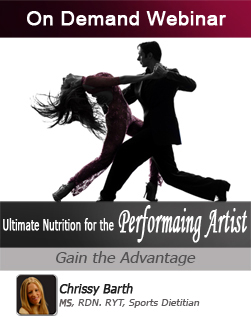 Ultimate Nutrition for the Performing Artist