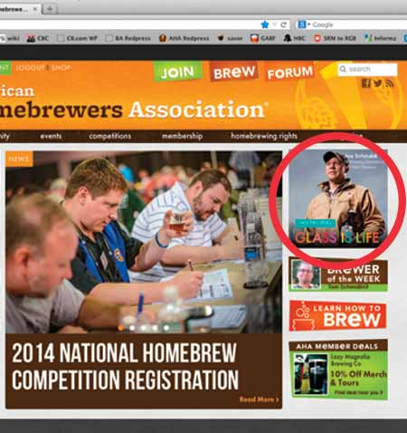 Your banner ad will be placed on the home page  and run of site of HomebrewersAssociation.org. High web traffic ensures interactivity with the AHA Forum. (Specs: 200px w x 200px h, animated JPG or GIF)