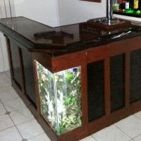aquarium bar feature