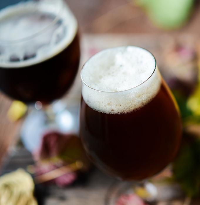 milk stout pumpkin beer with coffee & vanilla