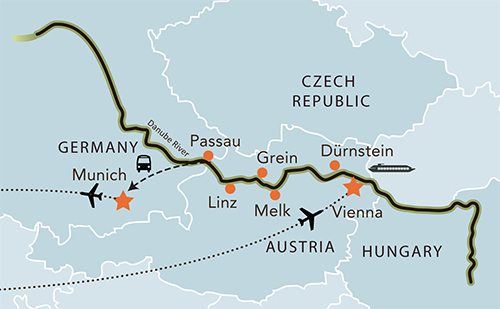 DanubeCruiseMap