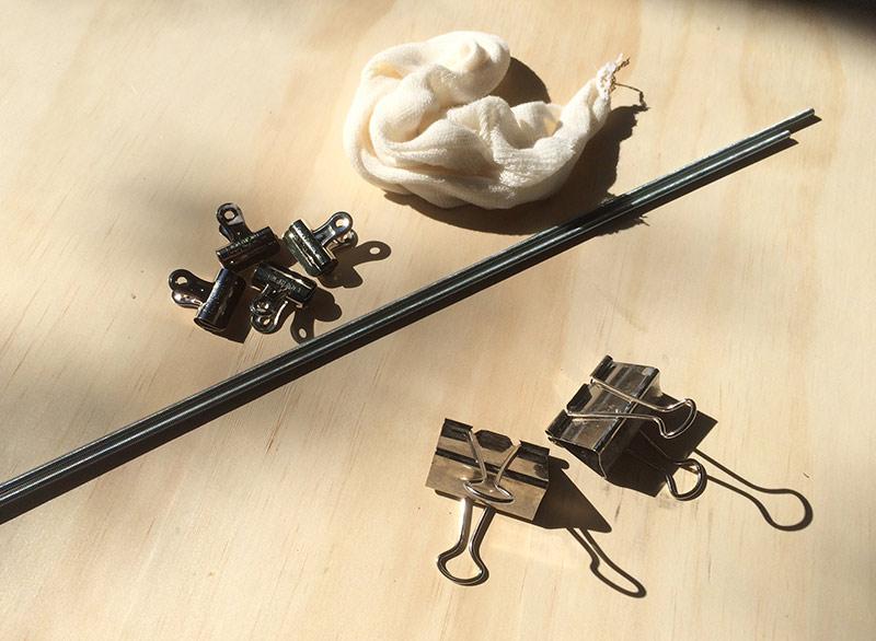Hop Spider Materials