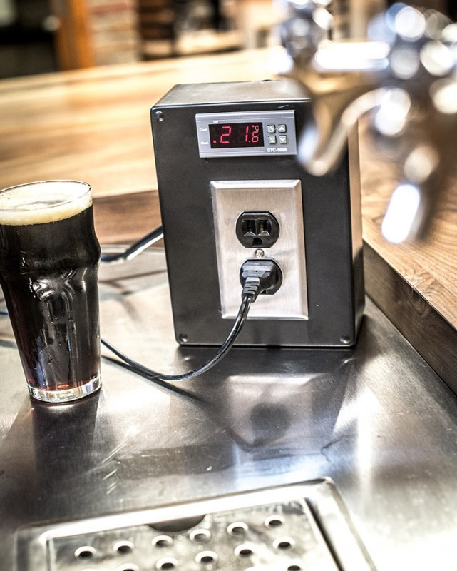 Homemade Temperature Control Homebrewing