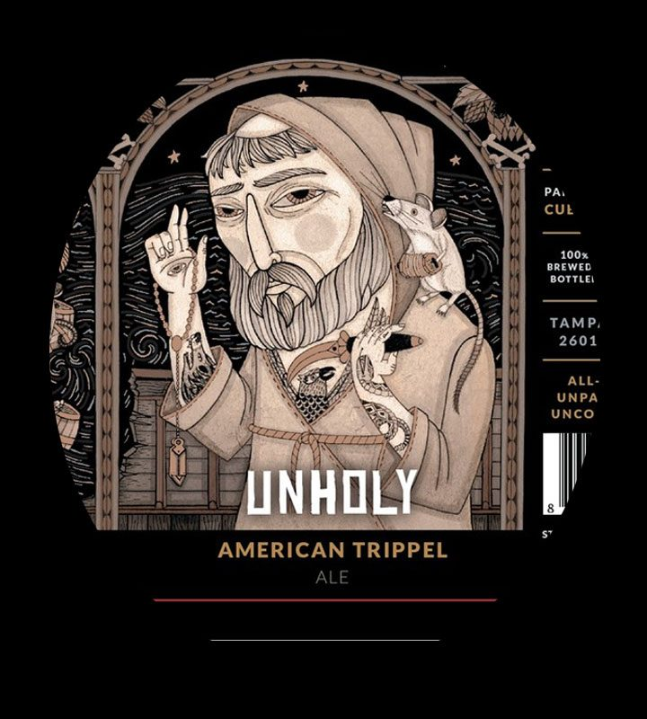 Coppertail Unholy American Trippel