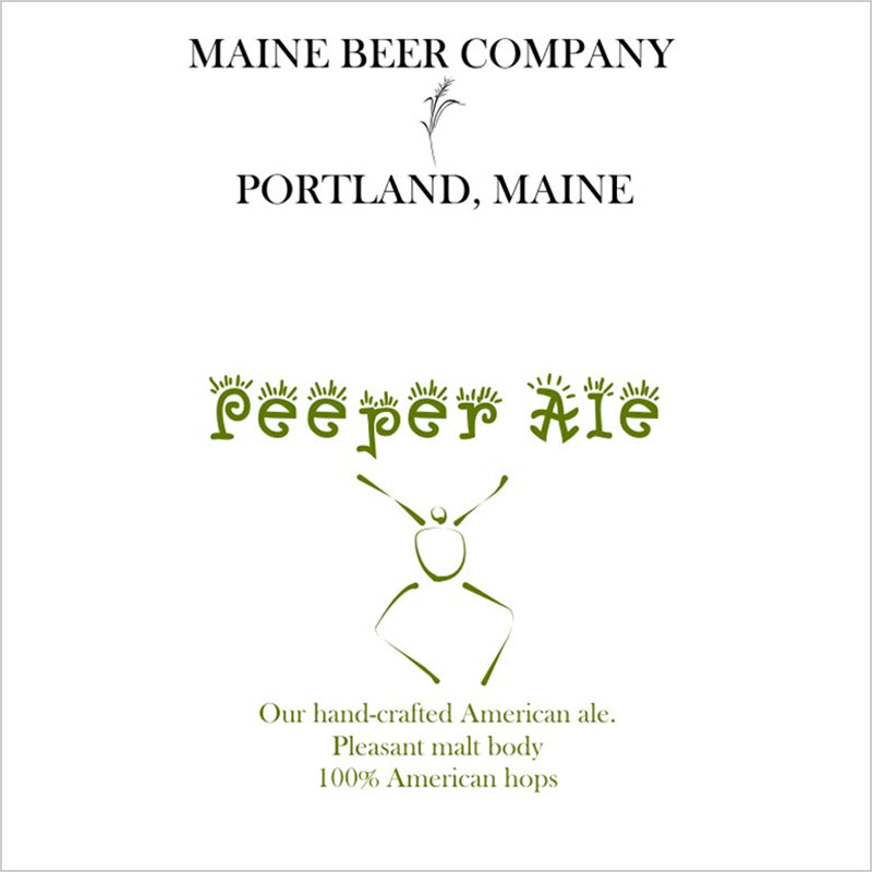 Maine Beer Co. Peeper Ale
