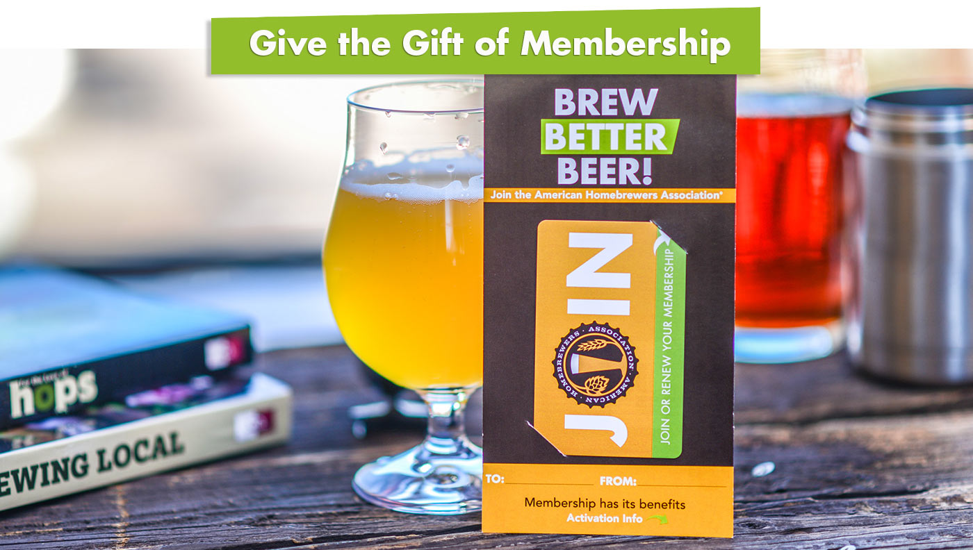 Give the Gift of Homebrewing