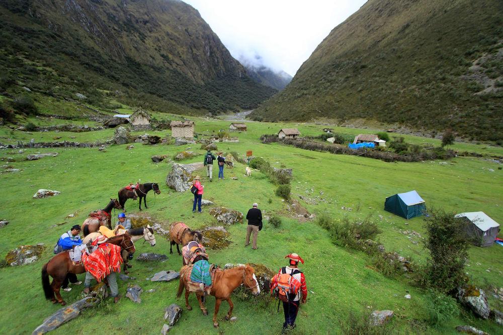 Choquechaca to Machu Picchu