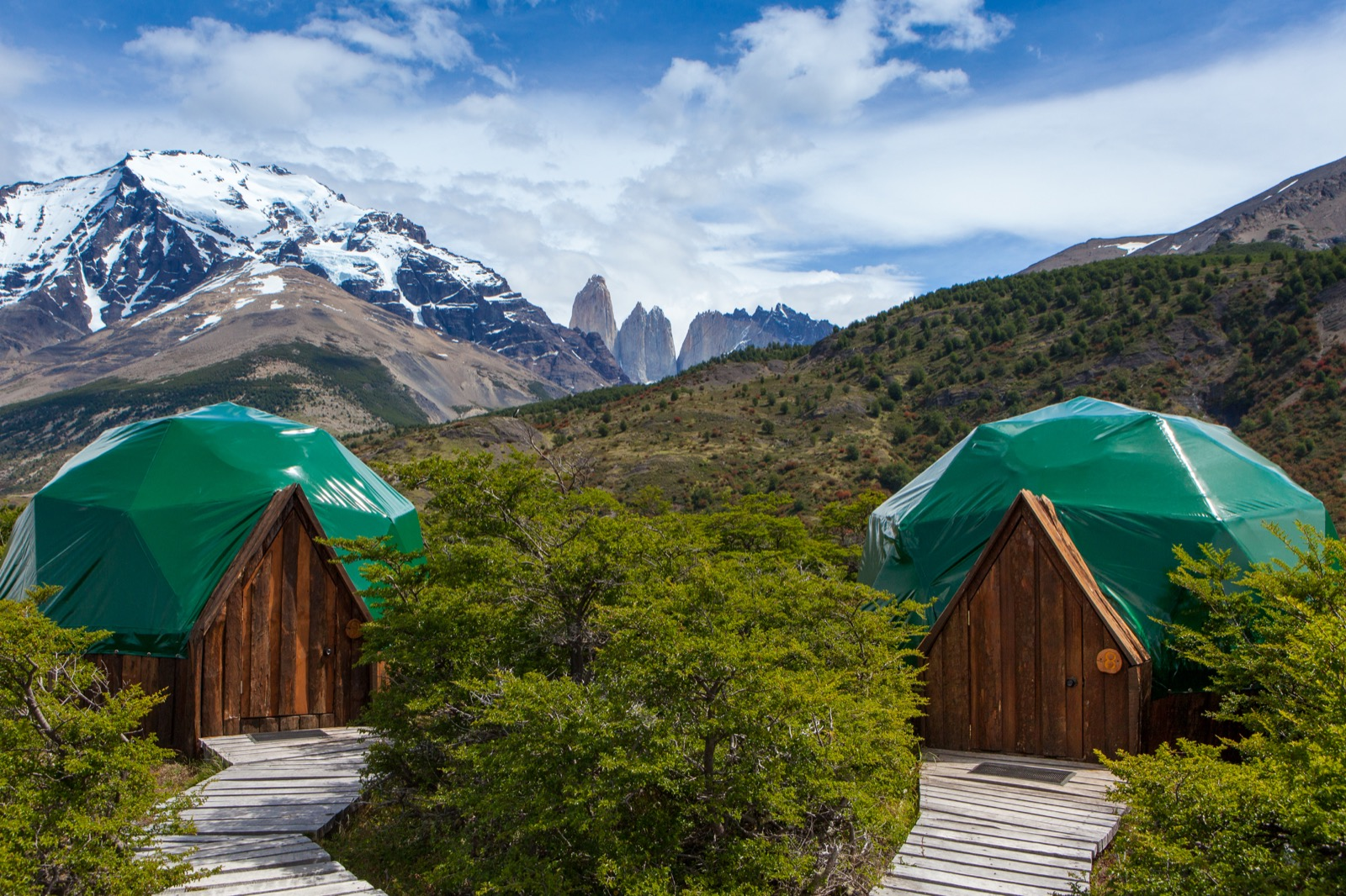 Arrival to EcoCamp Patagonia