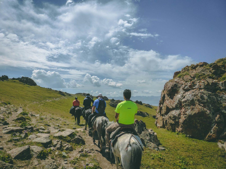 Horseback: Kilemche – Song Kul Lake