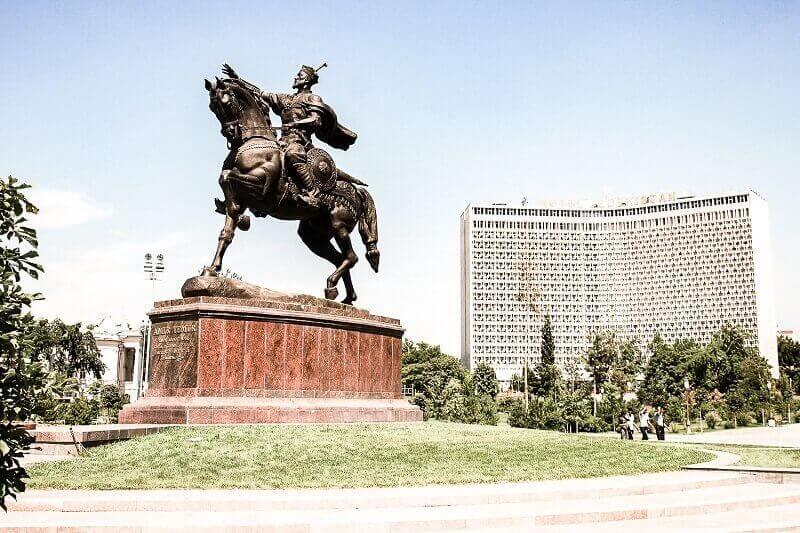 Arrival in Tashkent
