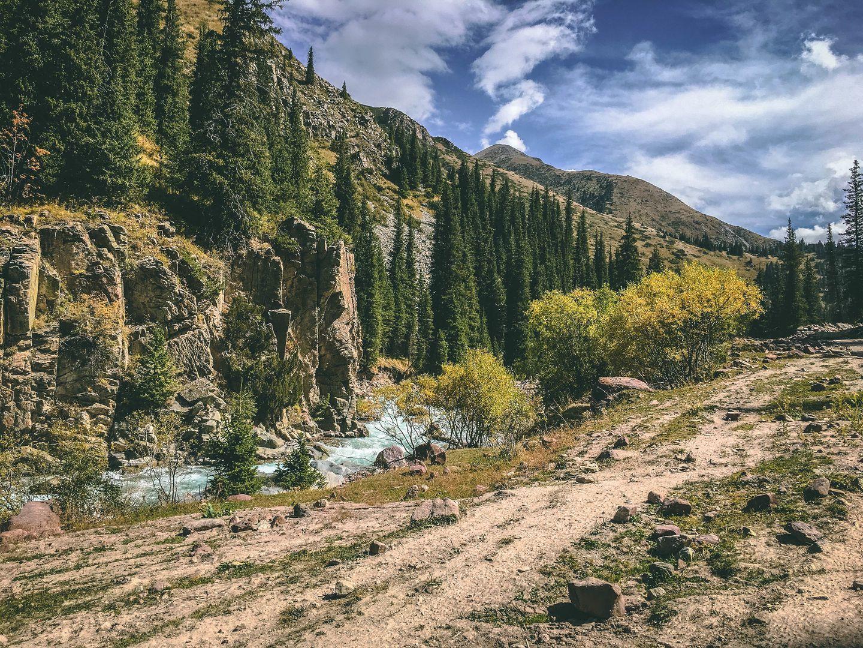 Biking: Kyzyl-Moinok Pass to Sary Jaz