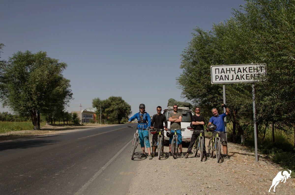 Day 13: Shing – Penjikent (MTB, 40km +300m/-1070m)