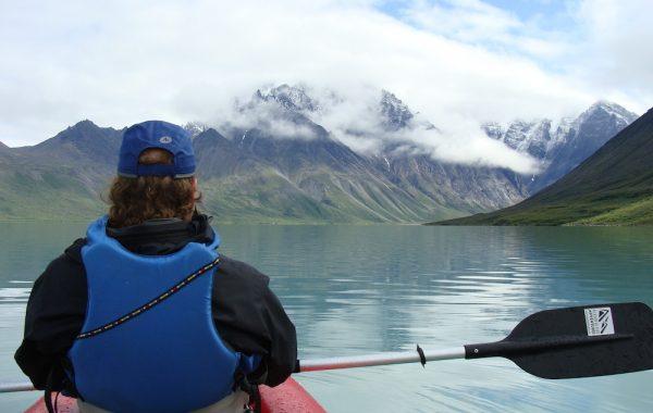 Kayaking Turquoise Lake