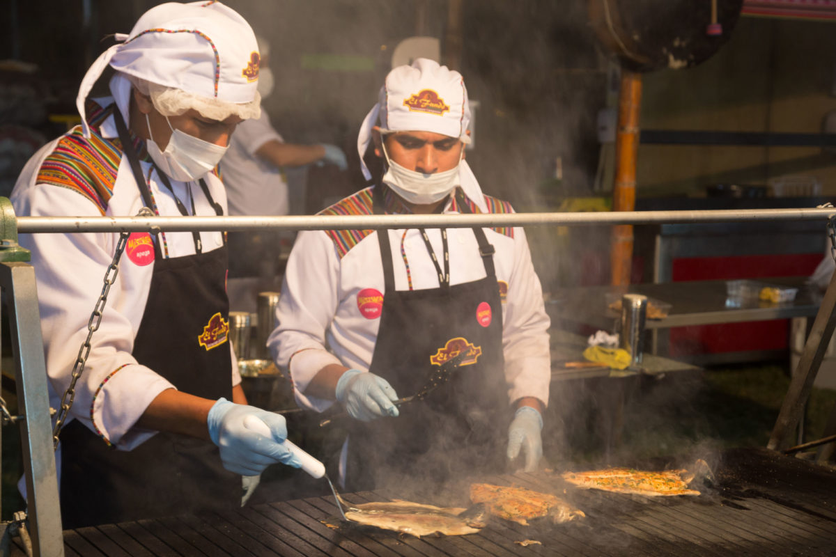 Eat like a king in Lima